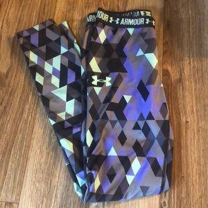 Under armor leggings size YM